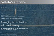 Sotheby's: Managing Art Collections & Estate Planning